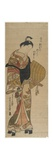 Wakashu in the Guise of Komuso, 1736-1741 Giclee Print by Okumura Masanobu