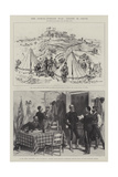 The Graeco-Turkish War, Scenes in Crete Giclee Print by Melton Prior