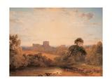 Kenilworth Castle, C.1827 Giclee Print by Peter De Wint