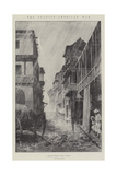 The Spanish-American War, the Rainy Season in Cuba, in Town Giclee Print by Paul Frenzeny