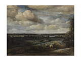 Dutch Panorama Landscape with a River, 1654 Giclee Print by Phillips de Koninck