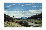 Landscape in Provence, 1860 Giclee Print by Paul Camille Guigou