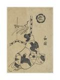 Wakoku, 1701 Giclee Print by Okumura Masanobu