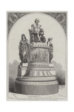 Plaster Monument of Shakespeare, Modelled by the Late J E Thomas Giclee Print by R. Dudley