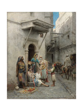 The Young Flower Seller; Le Jeune Marchand De Fleurs Giclee Print by Pierre Outin