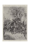 The Attempted Assassination of the Shah in Paris Giclee Print by Paul Frenzeny