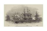 Sir Charles Napier's Squadron in Plymouth Sound Giclee Print by Nicholas Matthews Condy