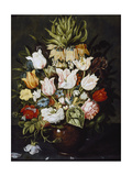 A Vase of Flowers, C. 1616 Giclee Print by Osias The Elder Beert