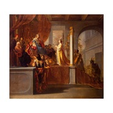 The Queen of Sheba before Solomon, C.1640 Giclee Print by Nikolaus Knüpfer