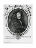 Gabriel Nicolas De La Reynie Giclee Print by Nicolas II de Larmessin