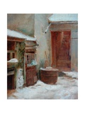 The Porch Giclee Print by Pierre Edouard Frere