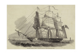 H M New Frigate Thetis Giclee Print by Nicholas Matthews Condy