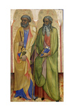Apostles Peter and Andrew ,C.1418-20 Giclee Print by Piero Di Alvaro