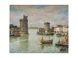 La Ville De La Rochelle Giclee Print by Pierre Langlade