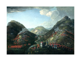 The Battle of Glenshiel, 1719 Giclee Print by Peter Tillemans