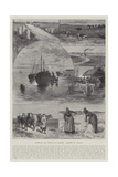 Highways and Byways in Denmark, Sketches in Jutland Giclee Print by Paul Frenzeny