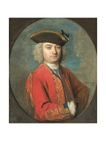 Portrait of Louis De Jean Giclee Print by Philippe Mercier