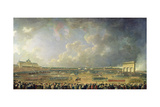 The Festival of the Federation at the Champ De Mars, 14 July 1790 Giclee Print by Pierre-Antoine Demachy