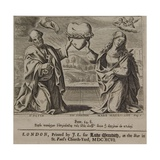 The Wisdom of the Prudent..., Published in Jeremy Taylor, Ductor Dubitanticum, 1696 Giclee Print by Pierre Lombard