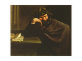 A Poet Giclee Print by Pier Francesco Mola
