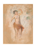 Study of a Faun Woman Dancing for 'Oedipus Rex', C. 1900 Wydruk giclee autor Pierre-Auguste Renoir