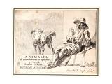 Shepherd and Dog Giclee Print by Nicolaes Pietersz. Berchem