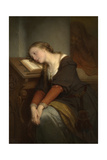 Margaret in the Church Giclee Print by Nicaise De Keyser