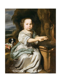 Portrait of a Girl, C.1664 Giclee Print by Nicolaes Maes