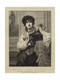 A Spanish Fruit-Girl Giclee Print by Pierre-Auguste Cot