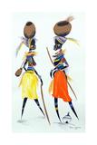 Black Models, 2008 Giclee Print by Oglafa Ebitari Perrin