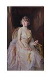 Vera Boscawen, Lady Broughton, 1922 Giclee Print by Philip Alexius De Laszlo