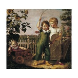 The Hulsenbeck Children, 1805 Giclee Print by Philipp Otto Runge