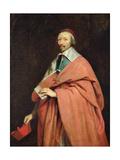 Cardinal Richelieu (1585-1642) C.1639 Giclee Print by Philippe De Champaigne