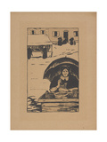 La Marchande Ambulante (The Street Vendor) 1895 Giclee Print by Paul Serusier