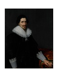 Portrait of Lucas Van Voorst, 1628 Giclee Print by Paulus Moreelse
