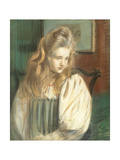 Portrait of Jessie Margery Dunthorne Giclee Print by Paul Cesar Helleu