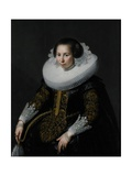 Portrait of Catharina Van Voorst, 1628 Giclee Print by Paulus Moreelse