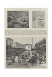 The Brazilian Insurrection, Sketches at Rio De Janeiro Giclee Print by Melton Prior