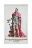 Anne De Montmorency (1493-1567) Constable of France from 'Receuil Des Estampes Giclee Print by Pierre Duflos