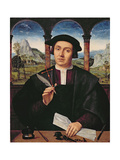 Ng 2273 Portrait of a Man, C.1510-20 (Panel) Giclee Print by Quentin Massys