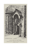 South Door of the Duomo Giclee Print by Nelly Erichsen