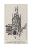 The Pulverthurm, Prague Giclee Print by Nelly Erichsen