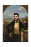Portrait of Prince Mikhail Alexandrovich Galitzine (1804-1860), 1833 Giclee Print by Orest Adamovich Kiprensky