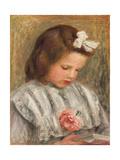 Head of a Girl; Tete De Fillette, C. 1893 Giclee Print by Pierre-Auguste Renoir