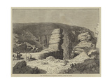 The Amphitheatre of Beliddea, Cornwall, from Pen Olver Giclee Print by R. Dudley