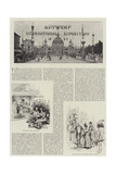 Antwerp International Exposition, 1894 Giclee Print by Melton Prior