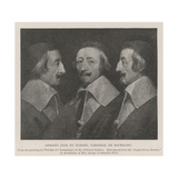 Armand Jean Du Plessis, Cardinal De Richelieu Giclee Print by Philippe De Champaigne