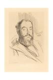 Self-Portrait, 1893 Giclee Print by Paul Albert Besnard