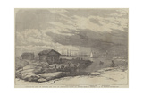 Baro Sound in the Gulf of Finland Giclee Print by Oswald Walters Brierly