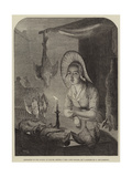 Girl with Poultry, Etc Giclee Print by Petrus van Schendel